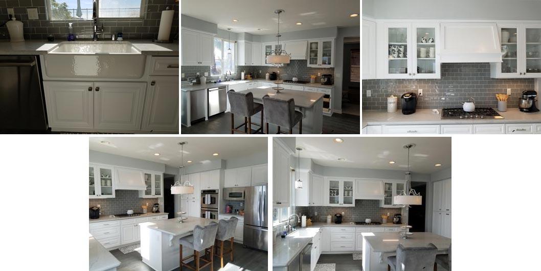 kitchen rebuild